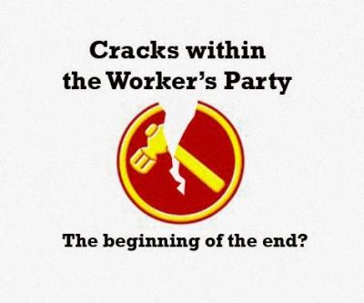 Breaking News! Worker's Party Set to Split